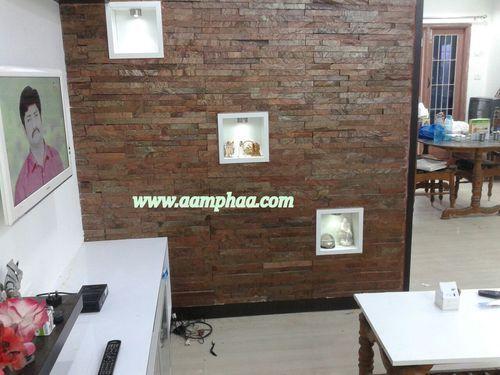 Interior Elevation Slate Tile