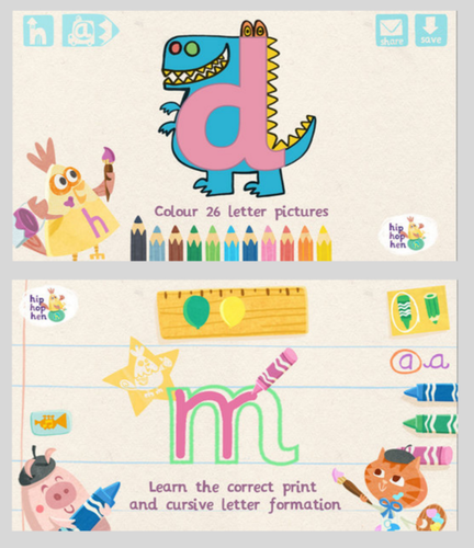 abc letter tracing app