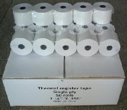 Paper Rolls - Thermal Paper Rolls Wholesaler from Thrissur