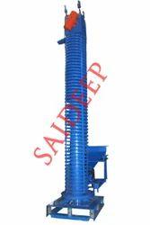 Saideep Flexible Conveyors Motorized Spiral Conveyor