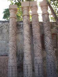 Garden Sandstone Pillar