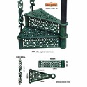 Victorian Cast Iron Spiral Stair Cases For Home, 4ft Dia