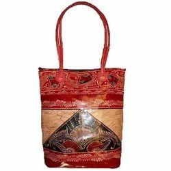 Traditional Casual Batik Shopping Bag, Bag Size (Inches): 16*16