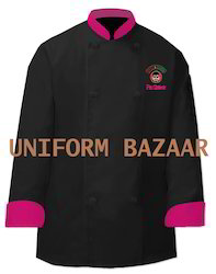 Chef Coat with Piping - CC-51
