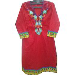 Fancy Embroidered Kurti