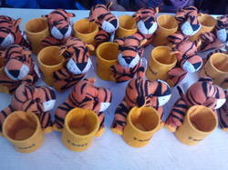 Pen Stand With Toy Customize