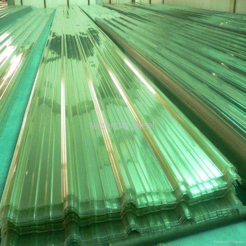 Film Coated Profile Polycarbonate Sheets