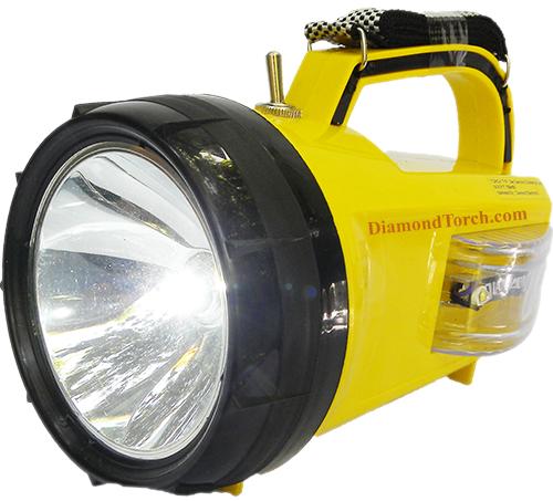 Daimond 5 Watt Led Waterproof Rechargeable Torch 2km