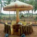 Mushroom Finish Hut