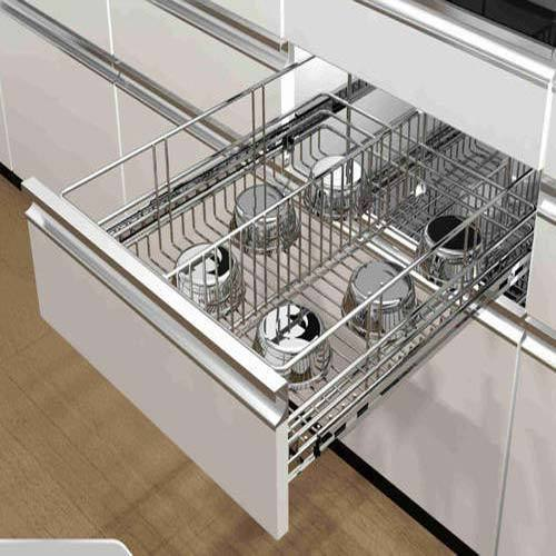 Modular Kitchen Basket Kitchen Equipment Chinar Park