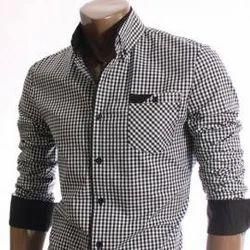 Shirts & T-Shirts Checked Men''s Garment