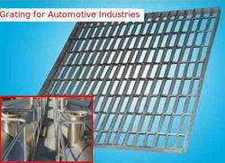 Grating for Automotive Industries