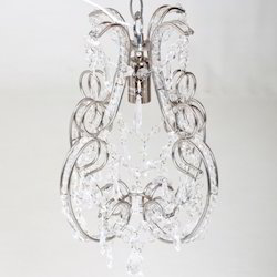 Designer Glass Chandelier