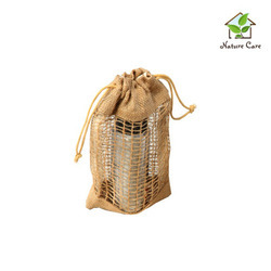 Jute Drawstring Fruits Pouch