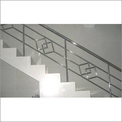 Steel Staircase Railings in Delhi, स्टील स्टेयरकेस रेलिंग ...