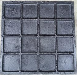 Cast Iron Chequered Plates