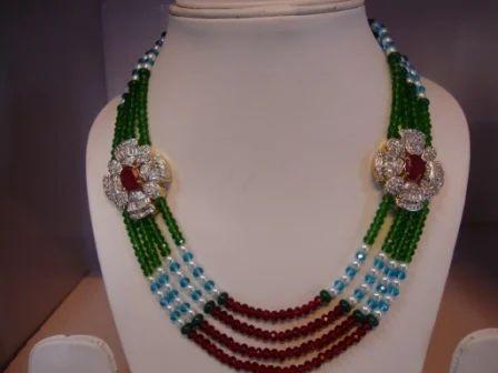 Imitation side pendant necklace shri ambika udyog imitation side pendant necklace mozeypictures Images