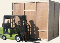 Wooden Box Machinery Packing Services