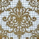 Golden Crystal Glass Mosaic Tile Mural