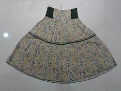 Voile Printed Skirt