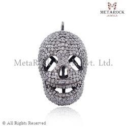 Party Wear Skull Charm Pendant
