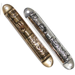 Nickel Plated Mezuzah