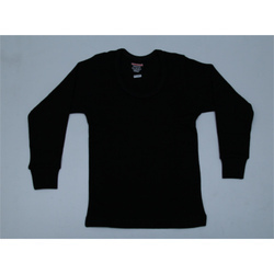 Black Cotton Thermal Inner Wear