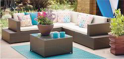 Outdoor Rattan Wicker Sofa Set