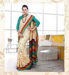 Embroidery Ladies Saree
