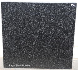 Regal Black Granite (Natural Glass Polish Surface)