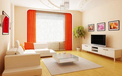 Orange Beautiful Interior Design in Sector 45 Gurgaon Decor Tech