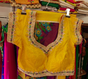 Yellow Designer Blouse