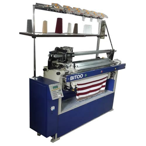 Computerized Collar Flat Knitting Machine क लर न ट ग