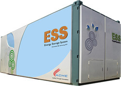 Acme Lithium Ion Based Energy Storage System Ess For Build Cleantech Solutions Private Limited Gurgaon Id 9961411130