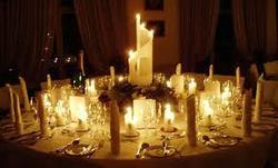 Dinner Table Catering Services for Wedding