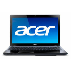 Black Acer Aspire Laptop, Memory Size: 4 Gb, Screen Size: 15.6 Inches
