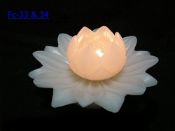 Big lotus floating candles flora candles om parkash sons delhi get in touch with us mightylinksfo