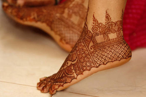 Mehndi Patterns For Legs : Indian arabic mehendi designs for legs best mehandi