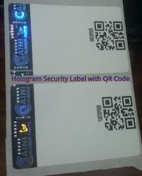 Paper Labels with Holograms