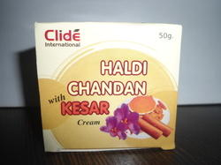 Haldi Chandan With Kesar Cream