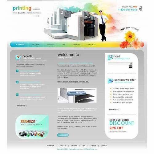 Template Web Design Service In Basak Bagan Kolkata Id 8825661588