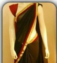 Black Georgete Sarees