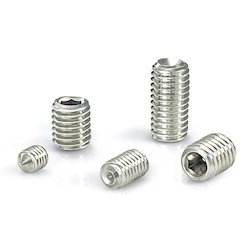 Flat Point Hexagon Socket Set Screws