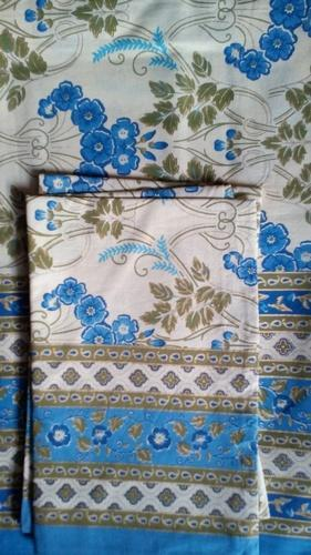 Flower Printed Bed Cover