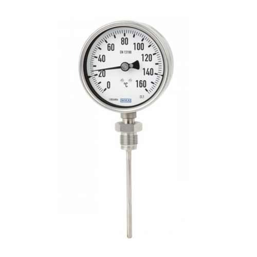 Wika Stainless Steel Temperature Gauge A-5502 (100 mm dial ) at Rs  2600/piece(s) | Superstore 3 - Hydraulics & Pneumatics, Jaipur | ID:  7112349791