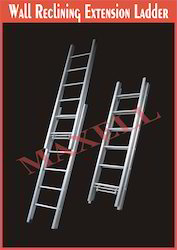 Wall Reclining Extension Ladder