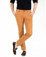 Khaki Plain Trousers