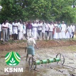 KSNM Manual Improved Direct Paddy Rice Seeder