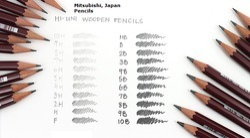 Mitusubishi,日本三菱铅笔