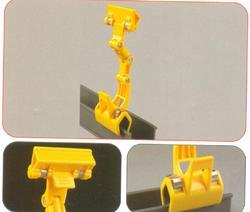 Adjustable Plastic Sign Clamp Poster Price Label Holder